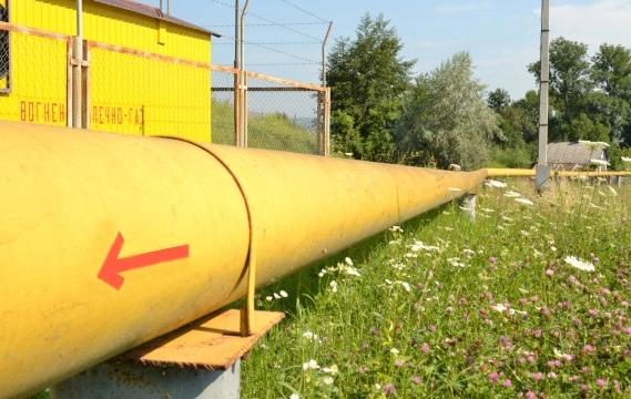 Надземні газові мережі високого тиску